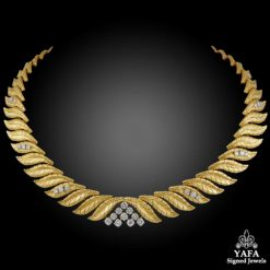 TIFFANY & Co. Diamond Gold Necklace