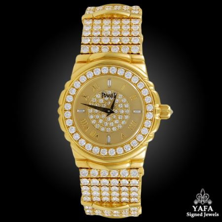 PIAGET Diamond Tanagra Wristwatch