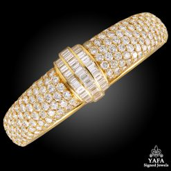 Van Cleef & Arpels Diamond Bangle