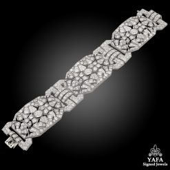 Platinum Diamond Bracelet 45cts.