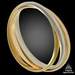 CARTIER 18k Gold Rolling Bangle