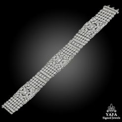 Art Deco Pave-set Diamond Bracelet