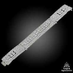 CHAUMET Art Deco Diamond Bracelet