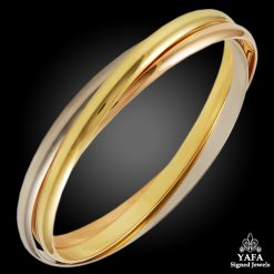CARTIER Tri-Color Trinity Bangle