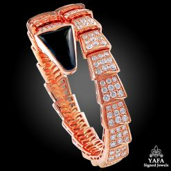 BULGARI Diamond, Onyx Serpenti Bracelet