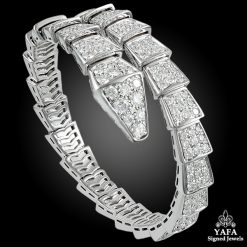 BULGARI Diamond Serpenti Bracelet - Medium