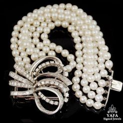 BOUCHERON Pearl, Diamond Bracelet