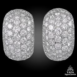 VAN CLEEF & ARPELS Diamond Boule Earrings