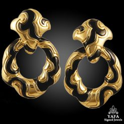 MARINA B. 18k Gold Ear Clips