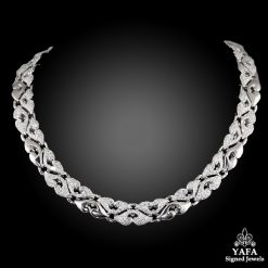 BVLGARI 18k White Gold Diamond Necklace