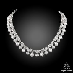 BULGARI Diamond & Pearl Necklace
