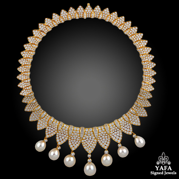 FRED Diamond, Pearl - necklace