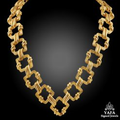 TIFFANY & Co. 18kt. Gold Link Necklace