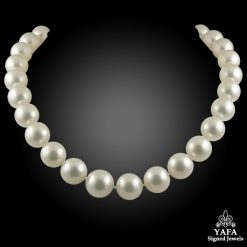 Platinum Diamond, South Sea Pearl Necklace