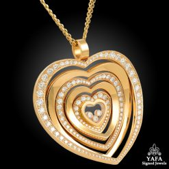 CHOPARD Heart Shape Diamond Pendant