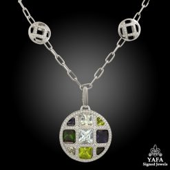 CARTIER Diamond, Semi-Precious Stones Necklace