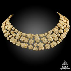 VAN CLEEF & ARPELS Diamond Melusine Necklace