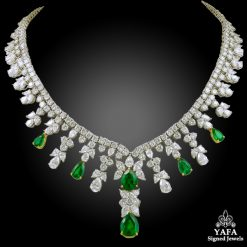 TIFFANY & Co. Diamond,Emerald Necklace