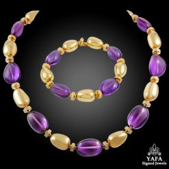 BULGARI Diamond, Amethyst Necklace Suite