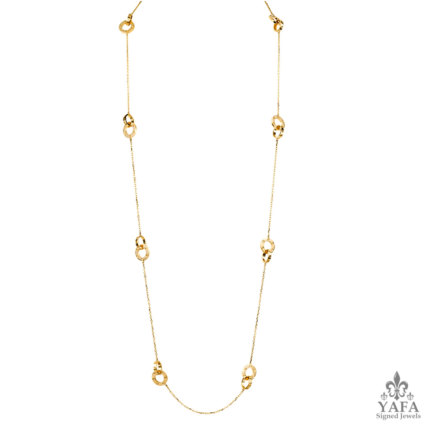 CARTIER Love Gold Necklace