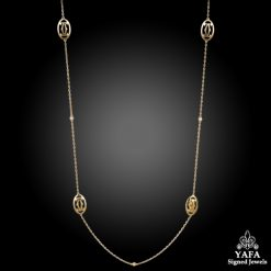 CARTIER Double C Long Necklace