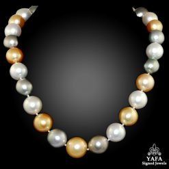 Multi-Colored South Sea Pearl Necklace