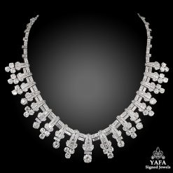 Platinum Diamond Necklace 35.97cts.
