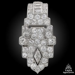 CARTIER London Diamond Clip