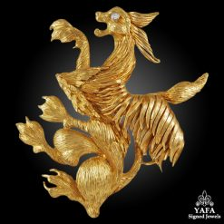 LALAOUNIS Diamond Dragon Brooch