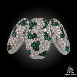 DE GRISOGONO Diamond,Emerald Ring