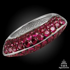 DE GRISOGONO Ruby Ring