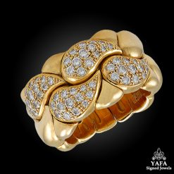 CHOPARD Diamond Gold Ring