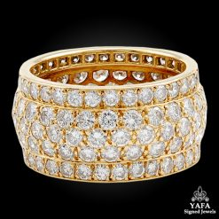CARTIER Diamond Wedding Band Ring