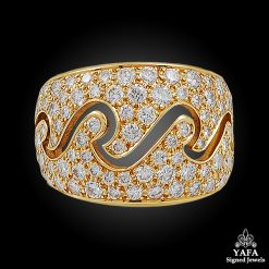 VAN CLEEF & ARPELS 'Ecime Collection' Diamond Ring