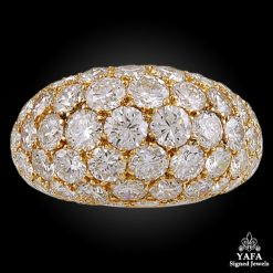 VAN CLEEF & ARPELS Diamond Dome Ring - size 45