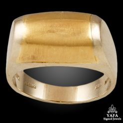 BULGARI Two Tone Dome Ring
