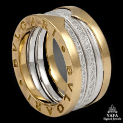 BULGARI Diamond Wedding Band