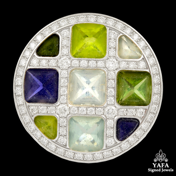 CARTIER Diamond, Semi-Precious Stones Ring