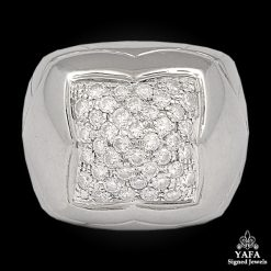 BULGARI Diamond Gold Ring - size 7