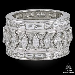 Platinum Diamond Wedding Band 10cts.