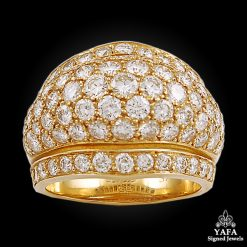 CARTIER Diamond Dome Band Ring