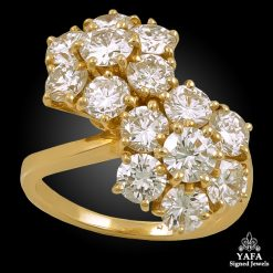 VAN CLEEF & ARPELS Diamond Fleurettes Ring