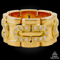 CARTIER Diamond Gold Band