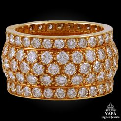 CARTIER Diamond Wedding Band - 54