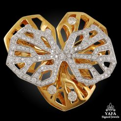 CARTIER Diamond Gold Ring - 53
