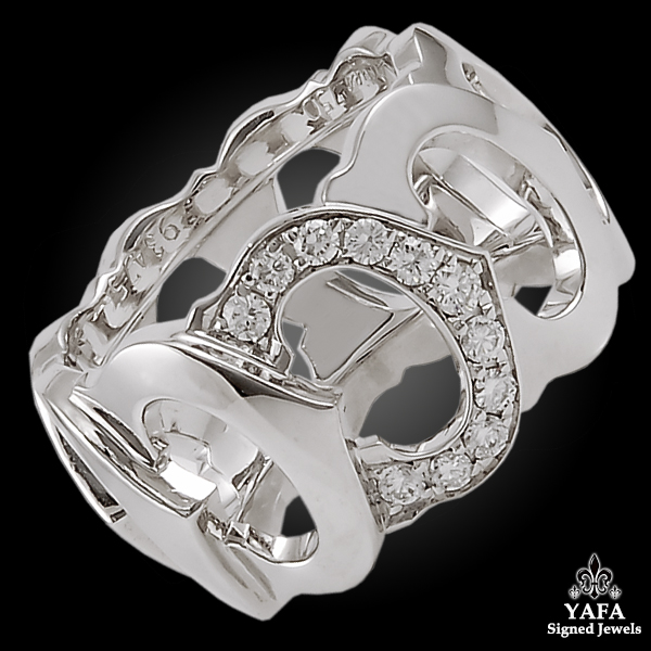 "CARTIER Diamond ""C"" Ring"