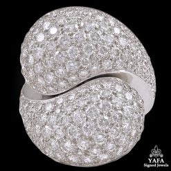 CARTIER Diamond Dome Ring - sz.51