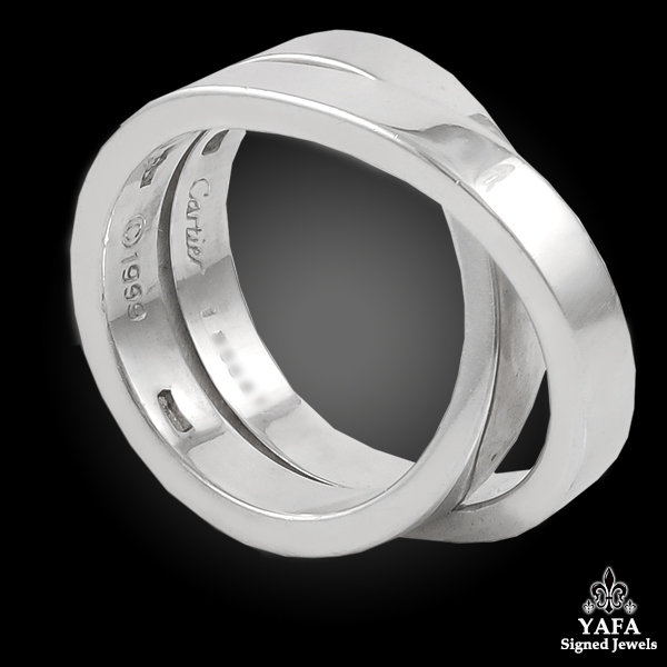 CARTIER Gold Wedding Ring
