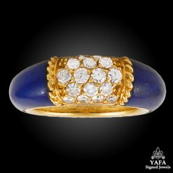 VAN CLEEF & ARPELS Lapis, Diamond Ring