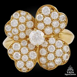 VAN CLEEF & ARPELS Diamond Cosmos Ring